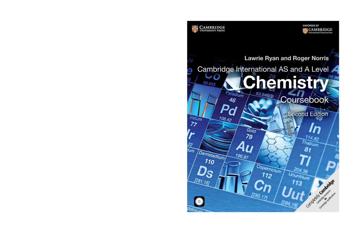 Cambridge International AS and A Level Chemistry Coursebook complete