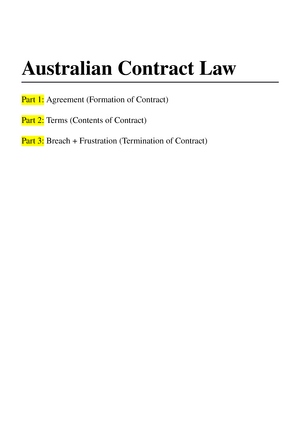 Summary australian contract law contracts stopboris Image collections
