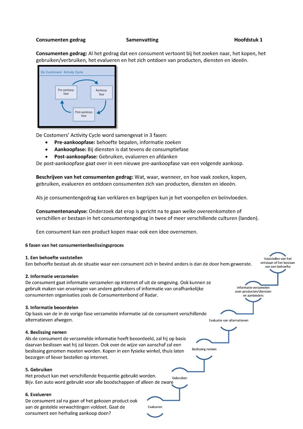 81a1b88a175 Samenvatting Marktonderzoek 25 Jul 2015 - StudeerSnel.nl