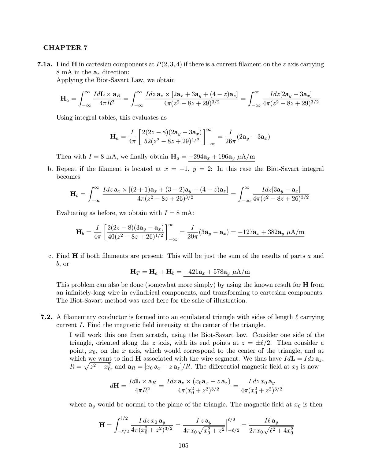 Hayt8e SM Ch7 - Solution manual Engineering Electromagnetics