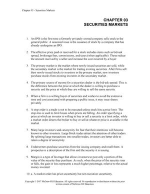 Essentials of investments 9th edition solution manual bureaus investment group portfolio no 13 llc vs sole