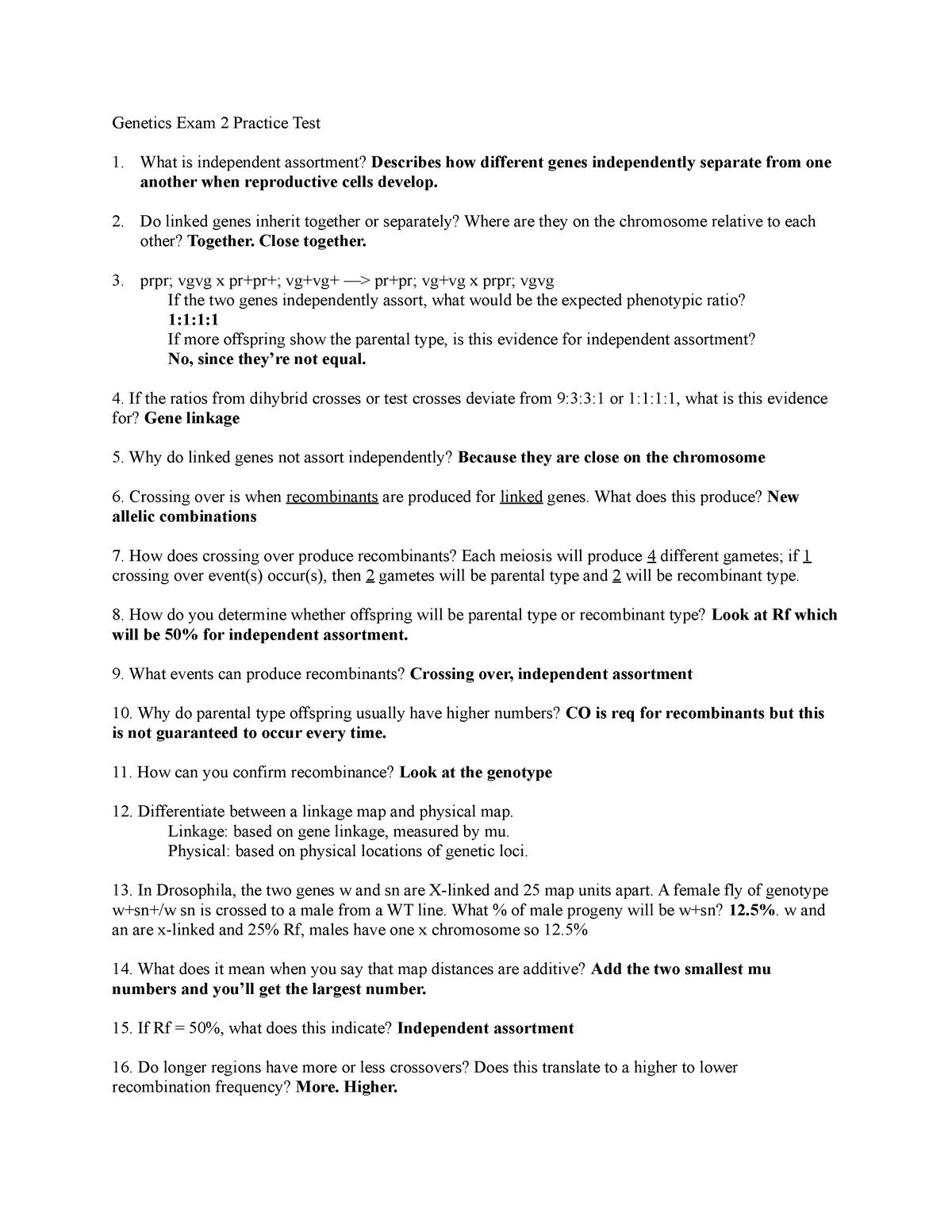 Summary BIOL 419 BIOL 419 29 Sep 2018 - StuDocu on