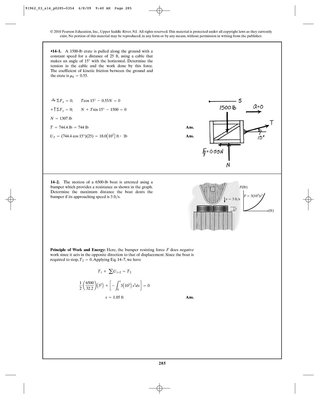 Solution Manual Dynamics Hibbeler - chapter 14 - StuDocu on