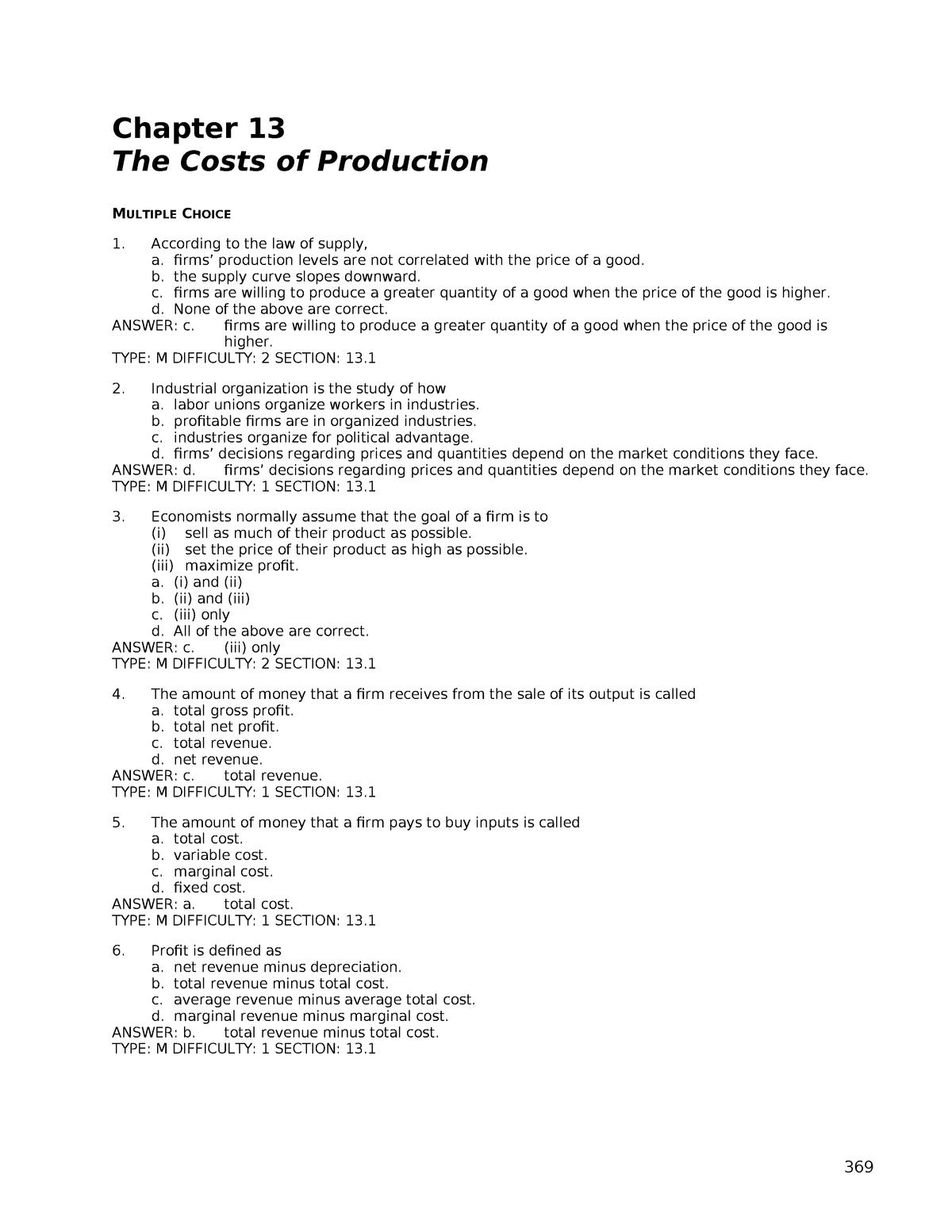 Calcul Salaire Net Québec >> Book Solution Principles Of Microeconomics Hubbard Chapter 13