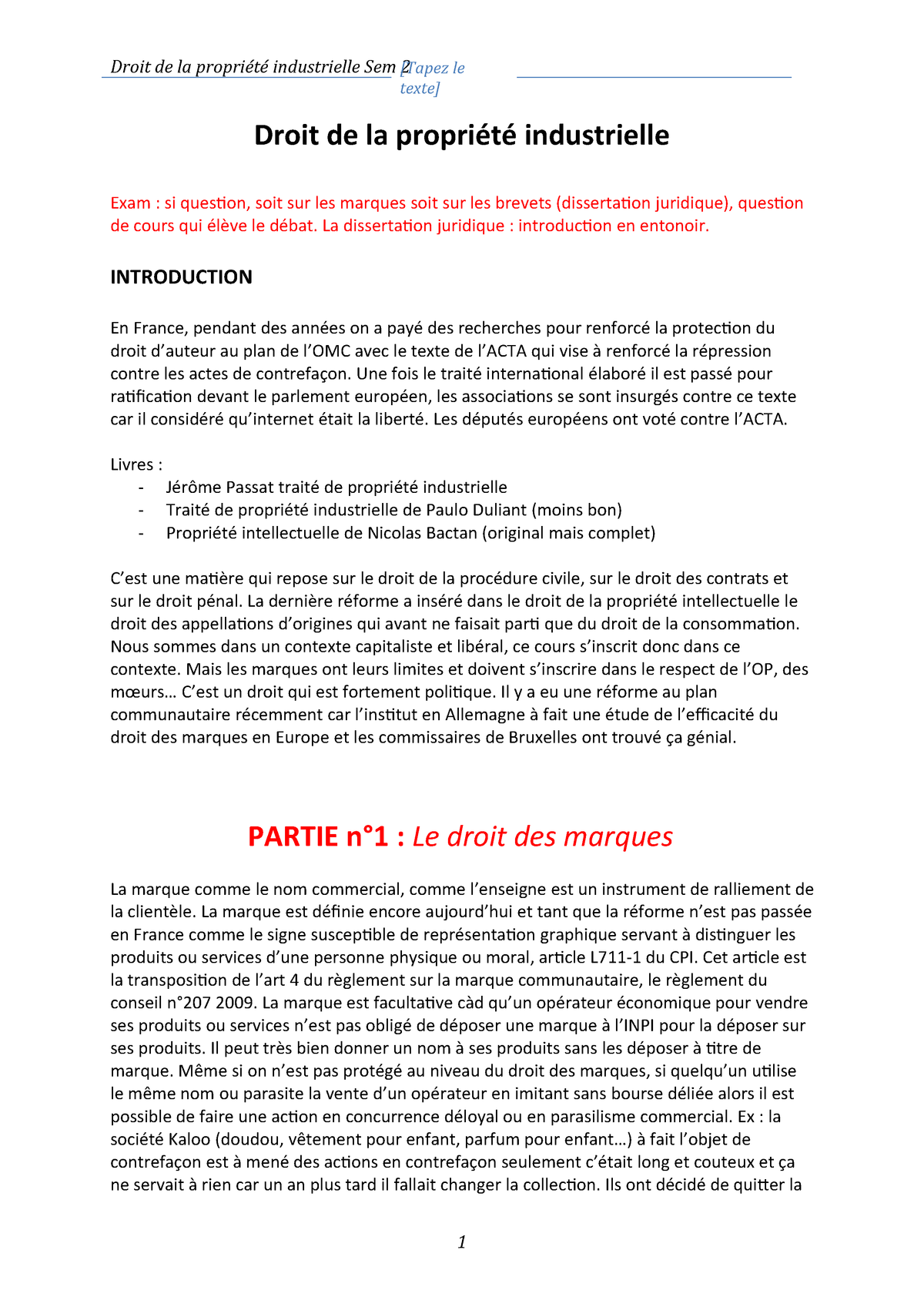Droit Propriété Industrielle La Enbas5u22 De QroWdCxBe