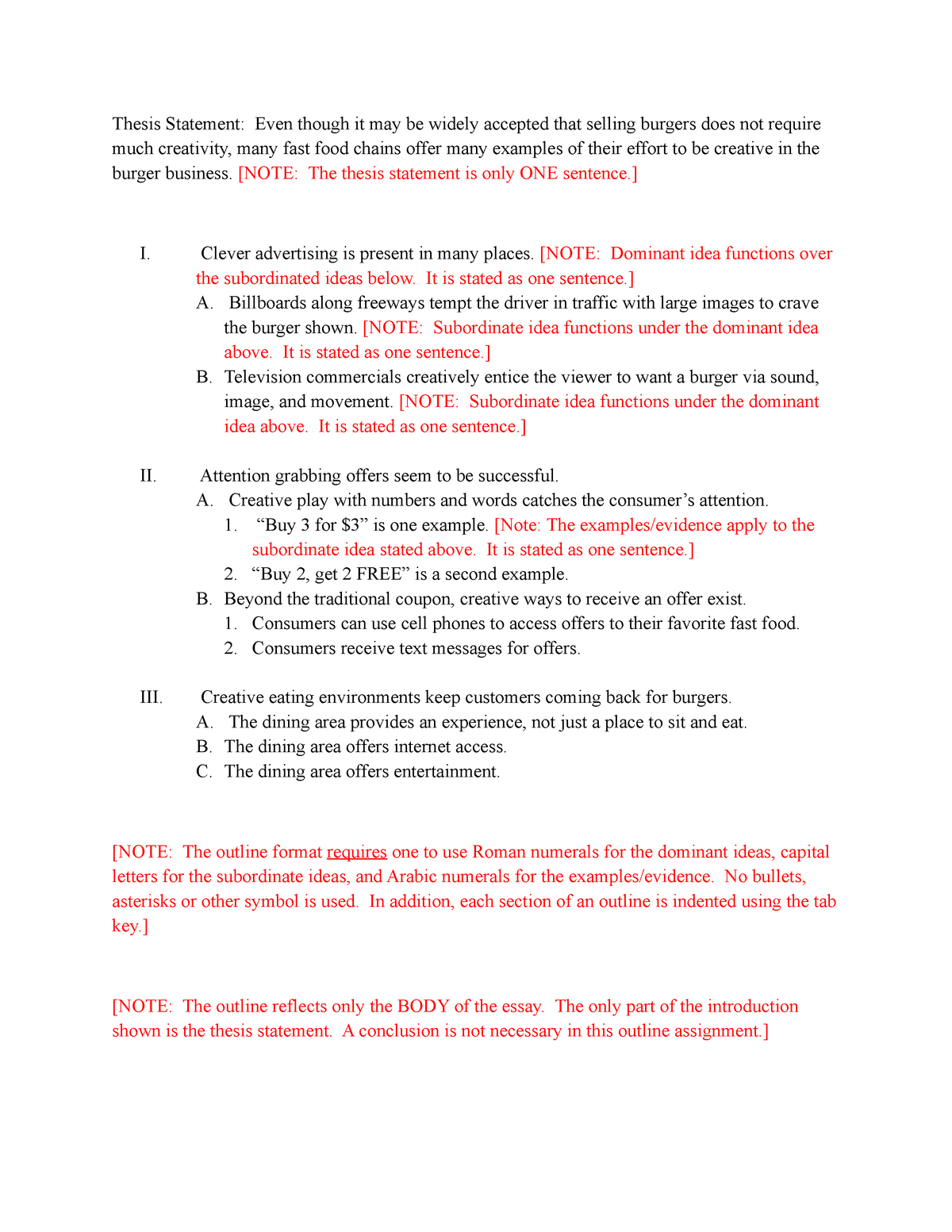 outline and partial essay for creativity essay   engl a freshman  outline and partial essay for creativity essay   engl a freshman  composition   studocu
