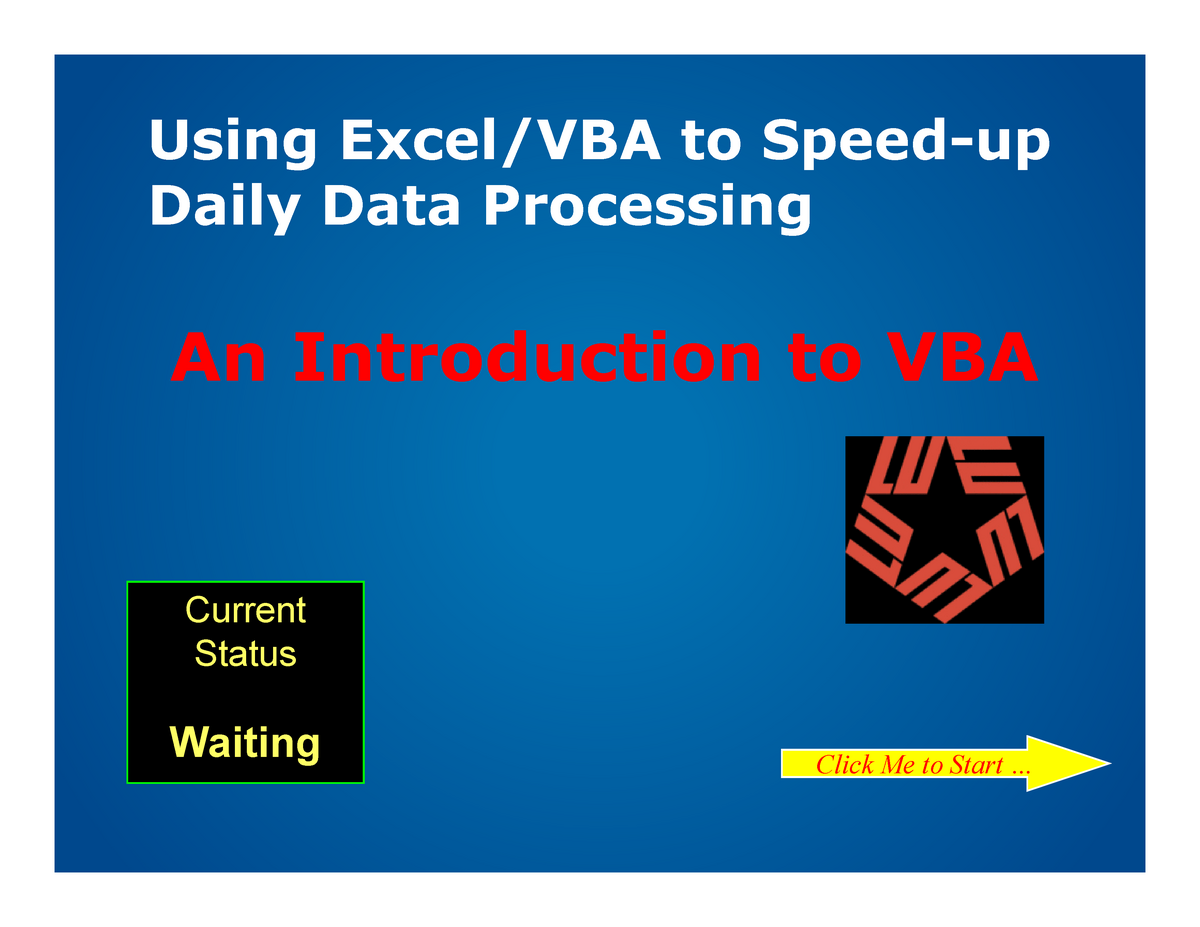12 Modleing for Process Safety VBA tutoring - CHEN 5357