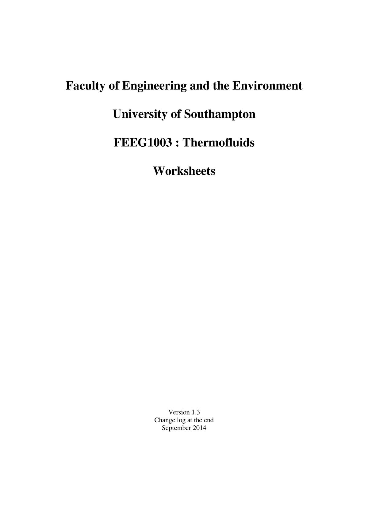 Engineering Thermofluids Thermodynamics Book