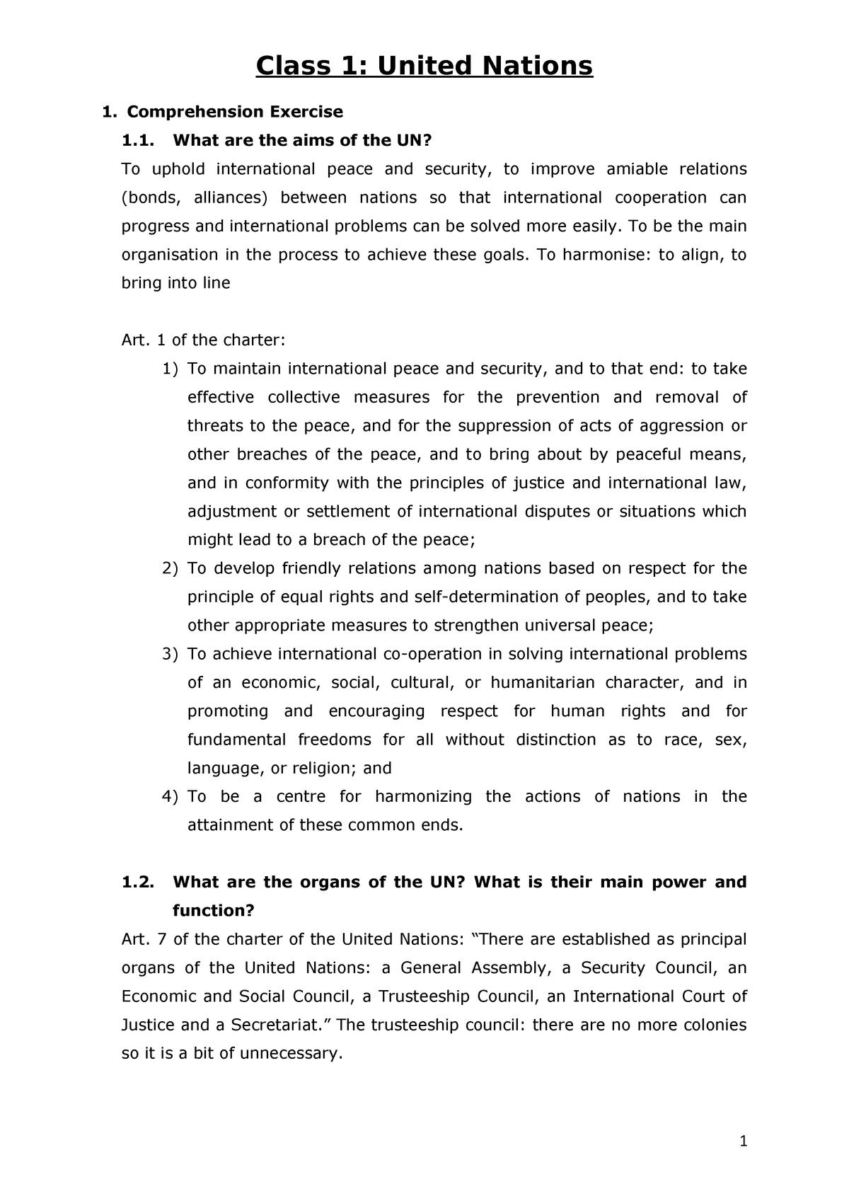 Lesson 1 Legal English - les 1 - 1877: Legal English - StuDocu
