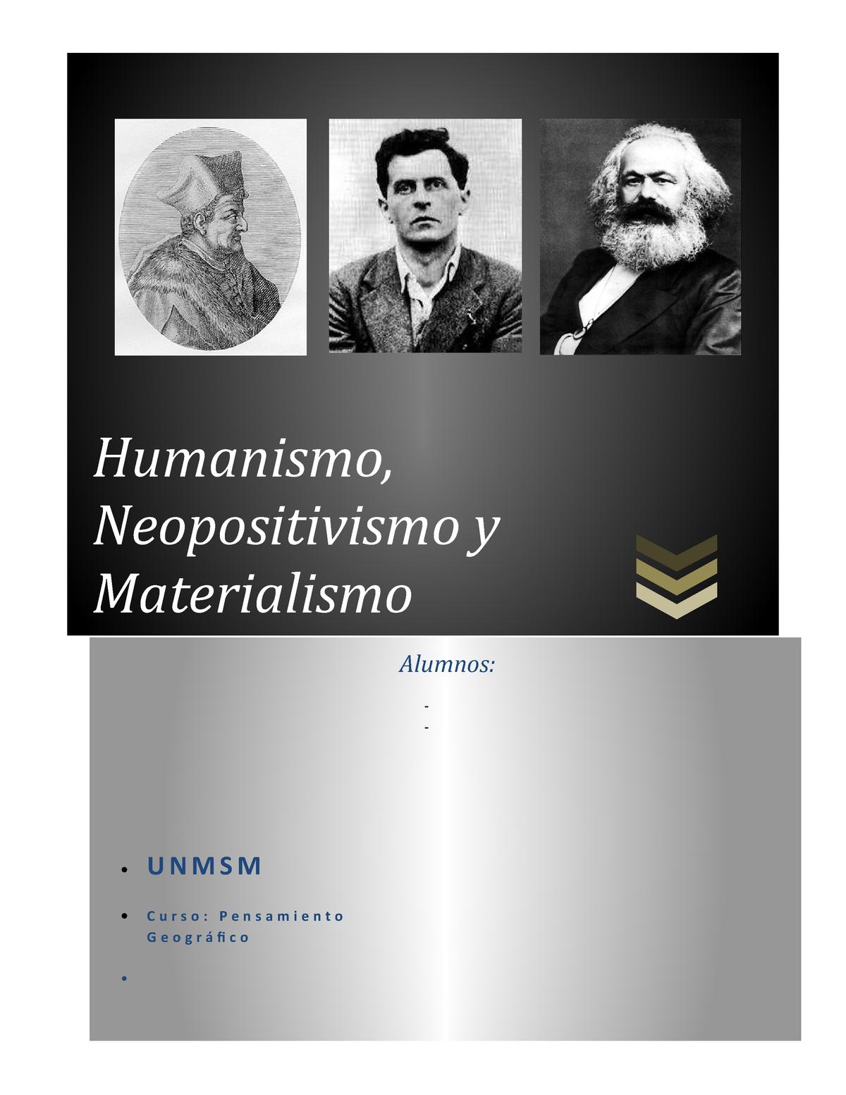 Monografía De Pensamiento Unmsm Studocu