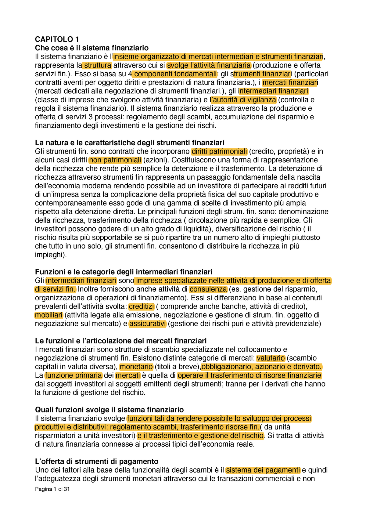 4f9ecc63e7 Riassunto Il sistema finanziario 22 Jul 2018 - StuDocu