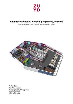 Het structuurmodelwensen, programma en ontwerp - Architectuur FM ...