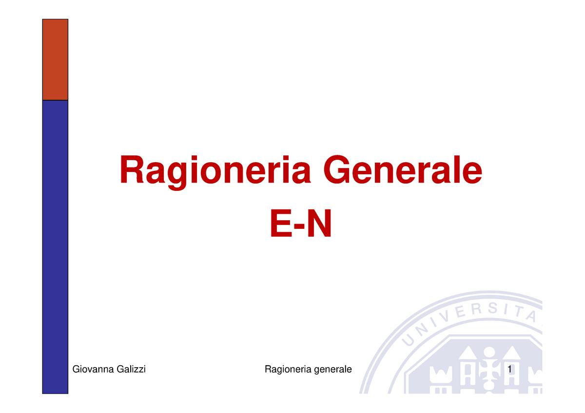 Unibg Calendario Esami Economia.Ragioneria Generale Modalita Compatibilita Gdf019