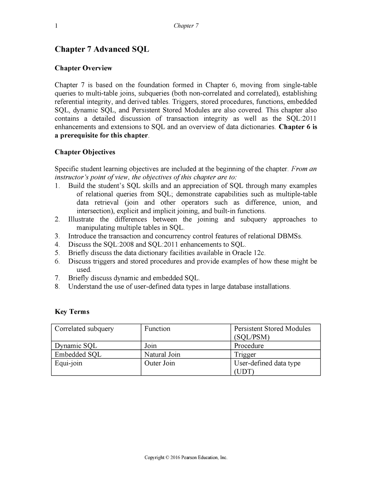 Hoffer mdm12 IM 07 - Solution manual Modern Database