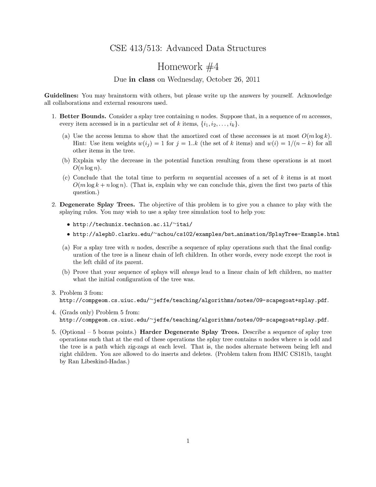 Hw4 - Homework assignment 4 - CIS 413 - University of Oregon