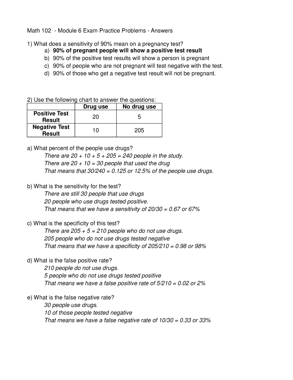 Review March 1 Spring 2016 Answers Math 102 Studocu