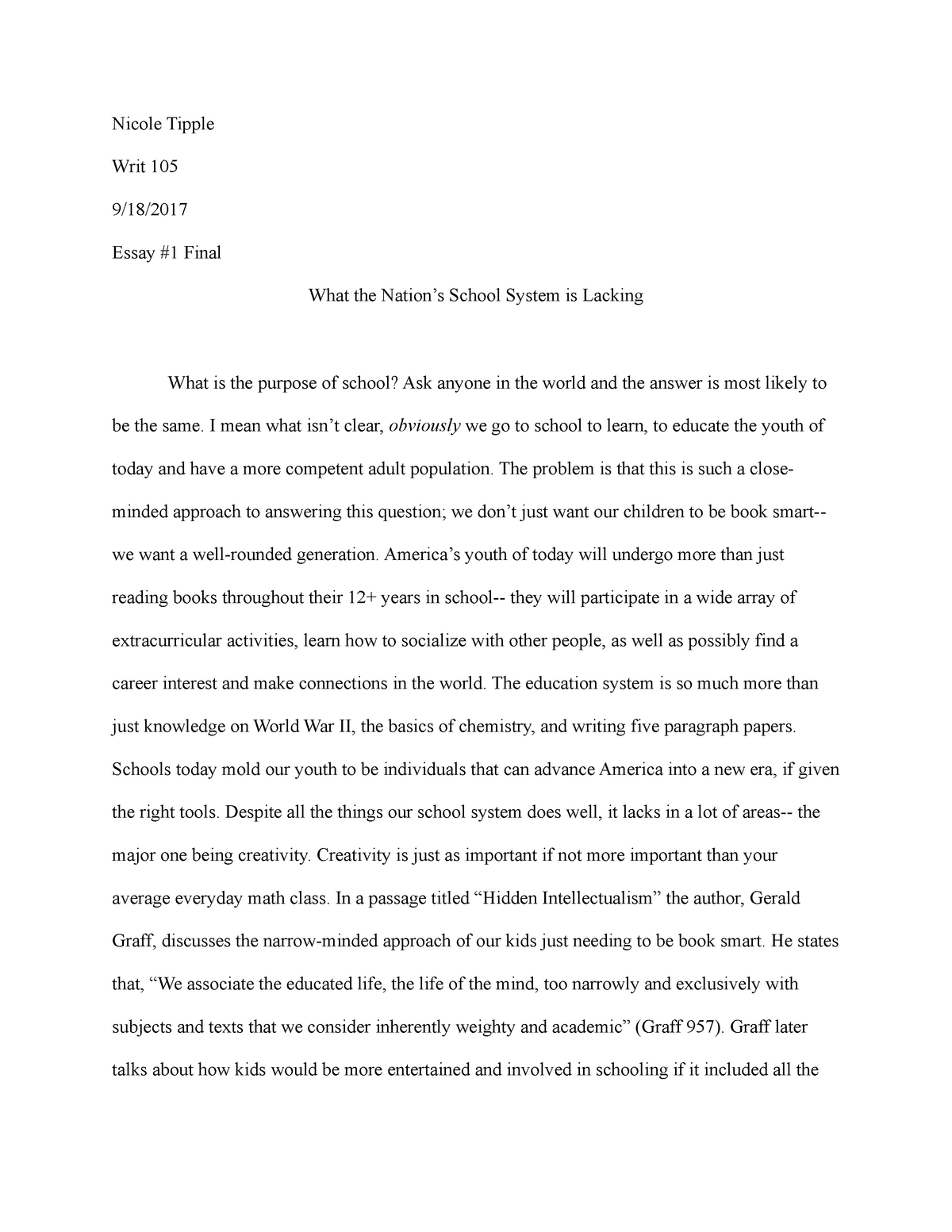 Antisocial personality disorder case study essay on a child