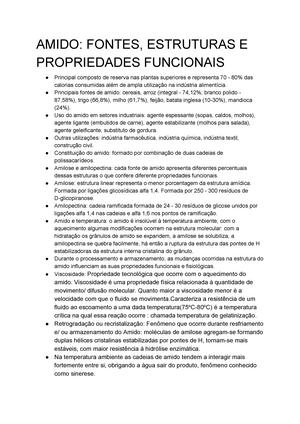Aula Carboidratos Complexos Amido E Celulose Fb 01 Unesp