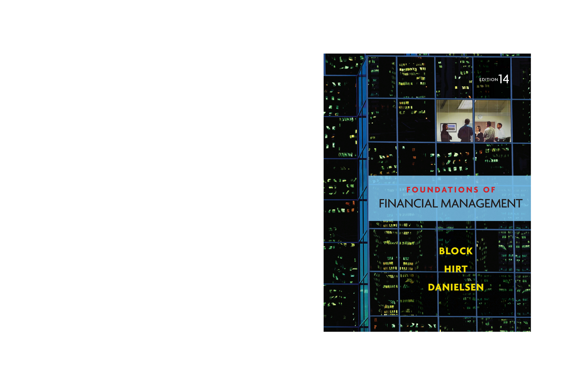 Stanley Block -Foundations of financial management - StuDocu