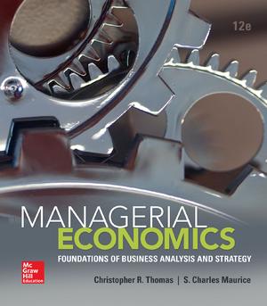Solution: Managerial Economics By Thomas 12th e - StuDocu