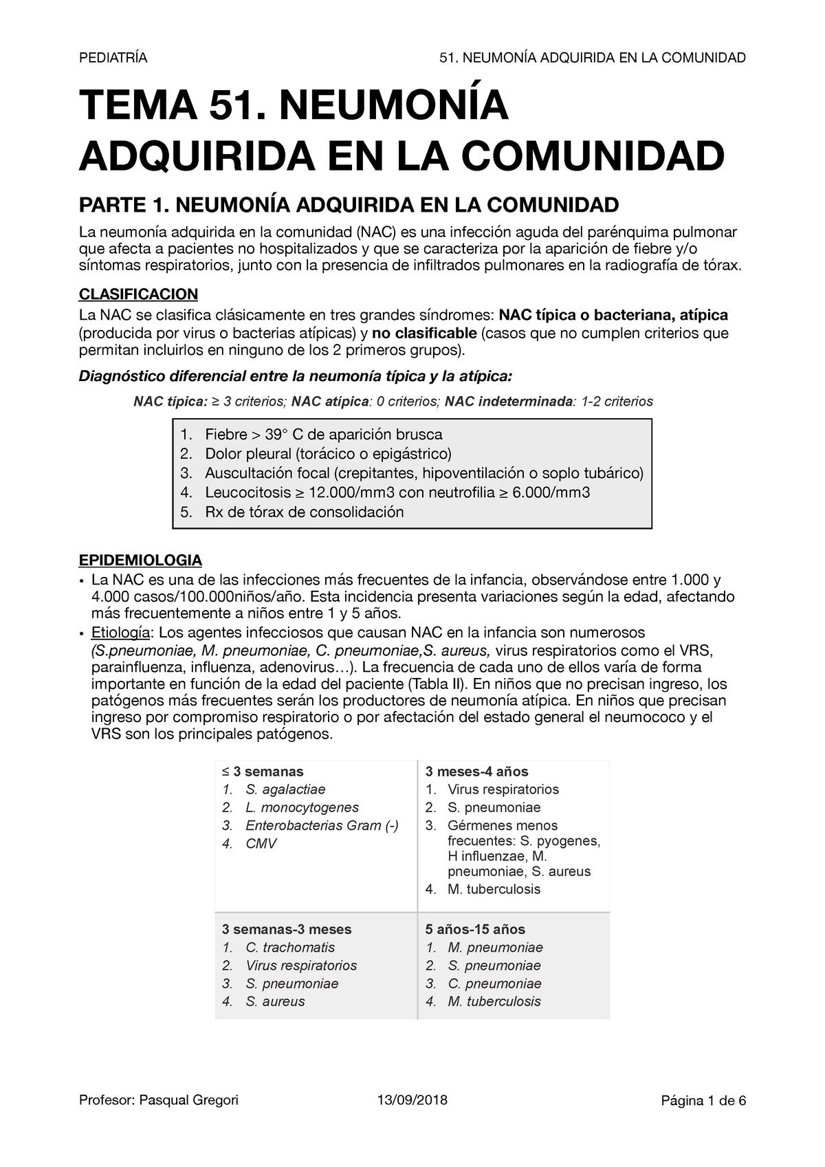 neumonia tipo 1 2 3