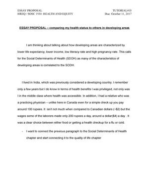 my health essay