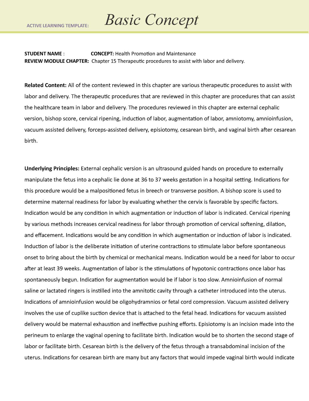 Ati Remediation Nur 4010 Nursing Research App State Studocu