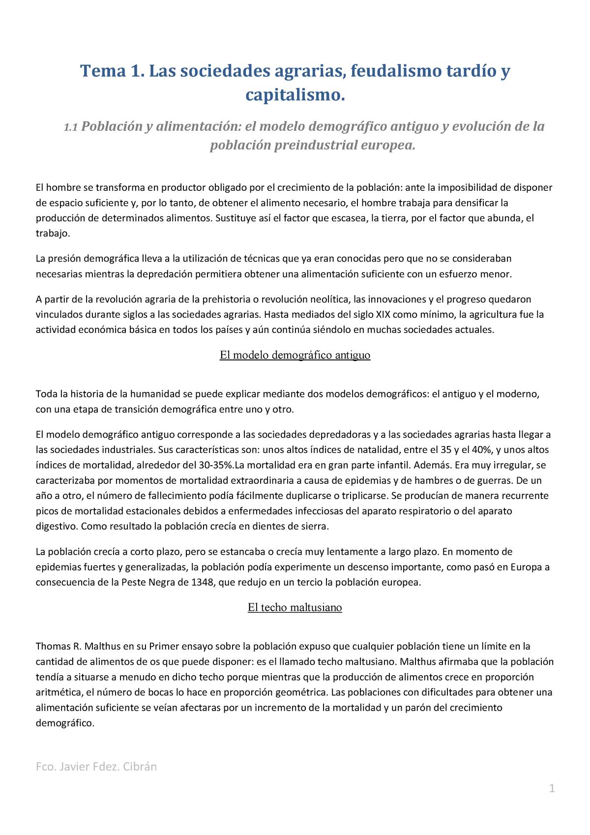 Tema 1 Historia Económica 802263 Ucm Studocu