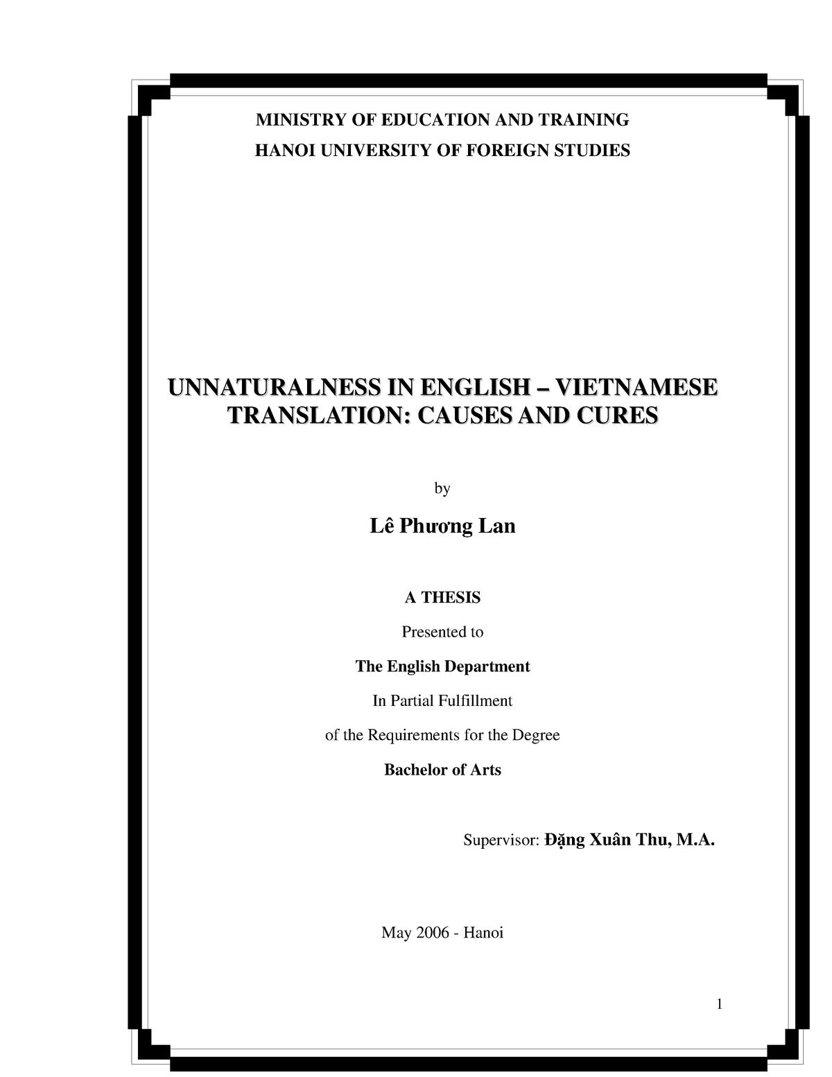 52651990 Unnaturalness in English Vietnamese Translation