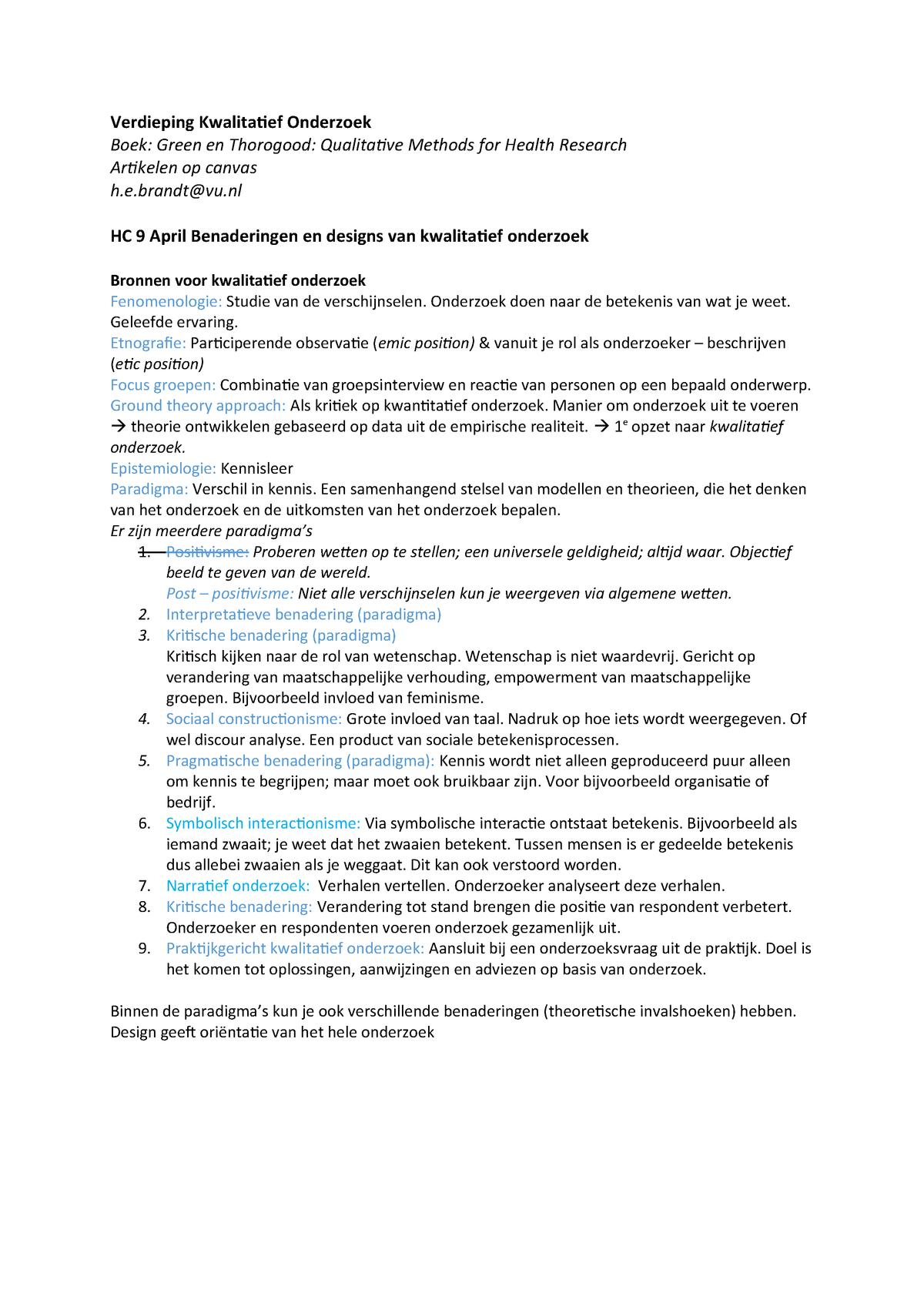 Verdieping Kwalitatief Onderzoek - AB_1172: Verdieping