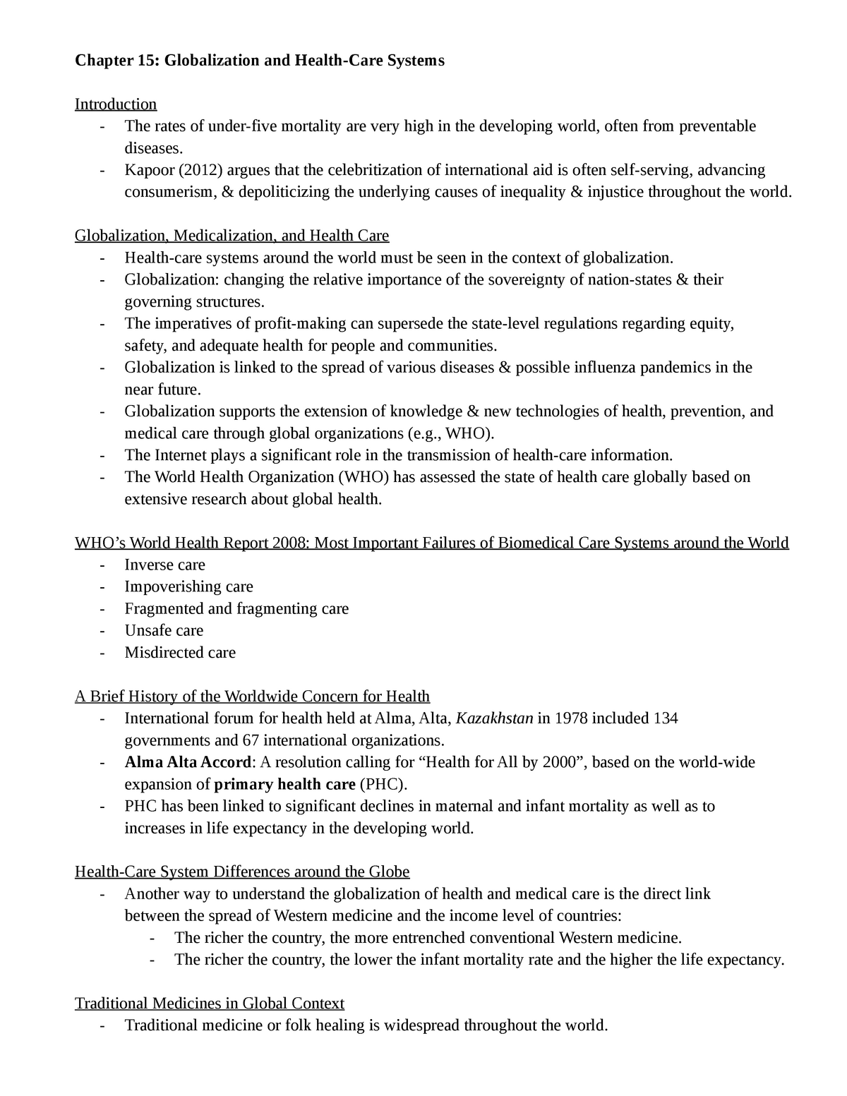 Quiz 2 - Quiz 2 - Soci 2050: Sociology of Health - StuDocu
