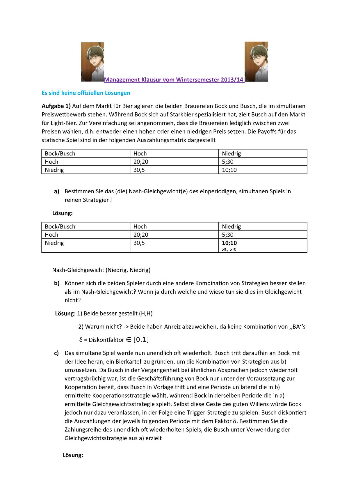 1256f66a3 Klausur 2014 - BMGT: Management - StuDocu