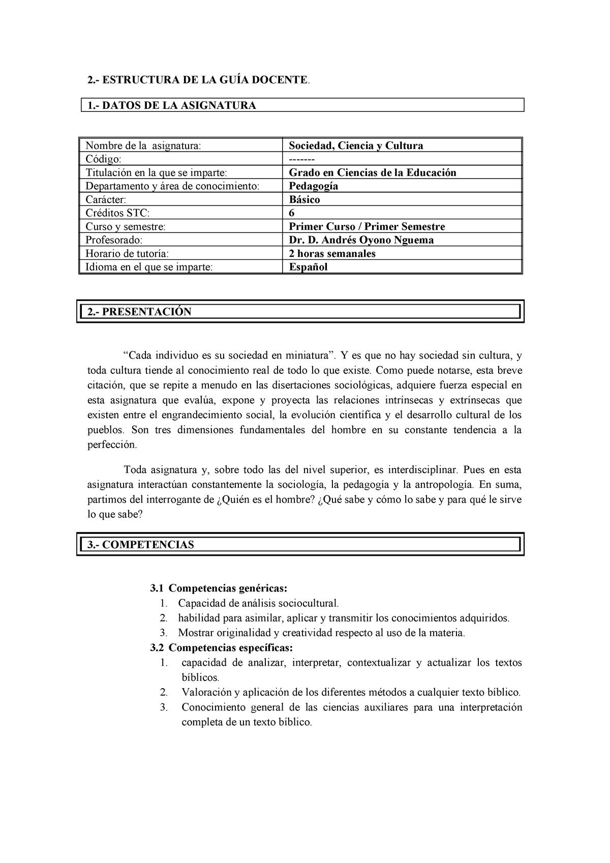 Lmd Plan Docente Hermeneutica Biblica 41468 Uva Studocu