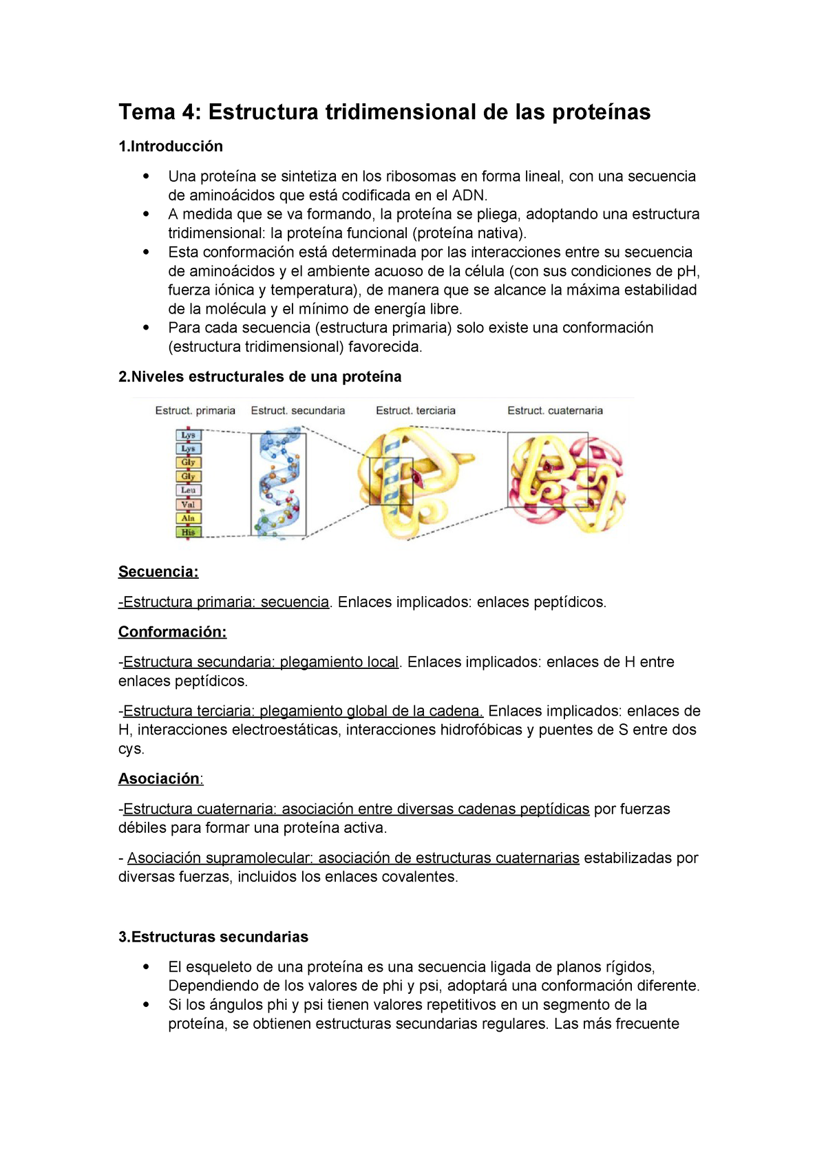 Tema 4 Uah Bioquímica 660012 Uah Studocu