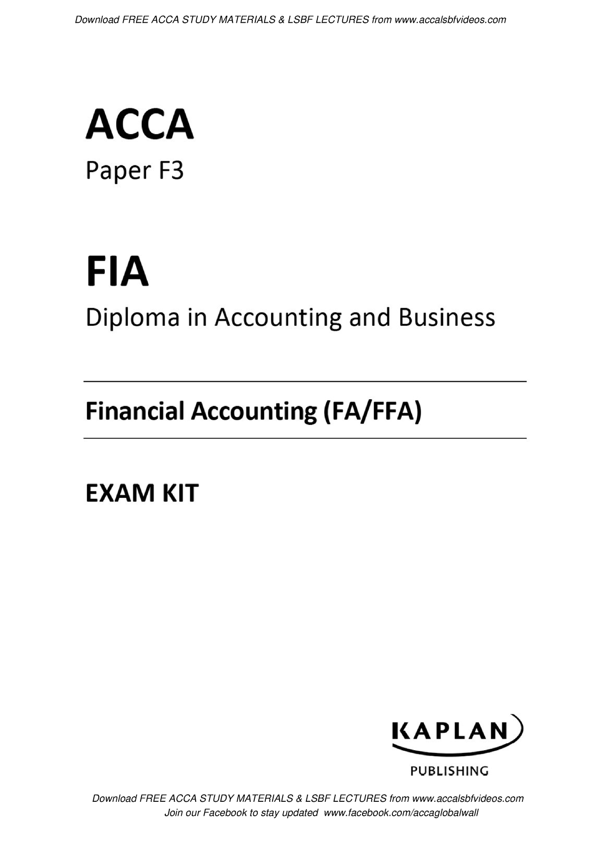 Exam 2018, questions and answers - Financial Accounting I