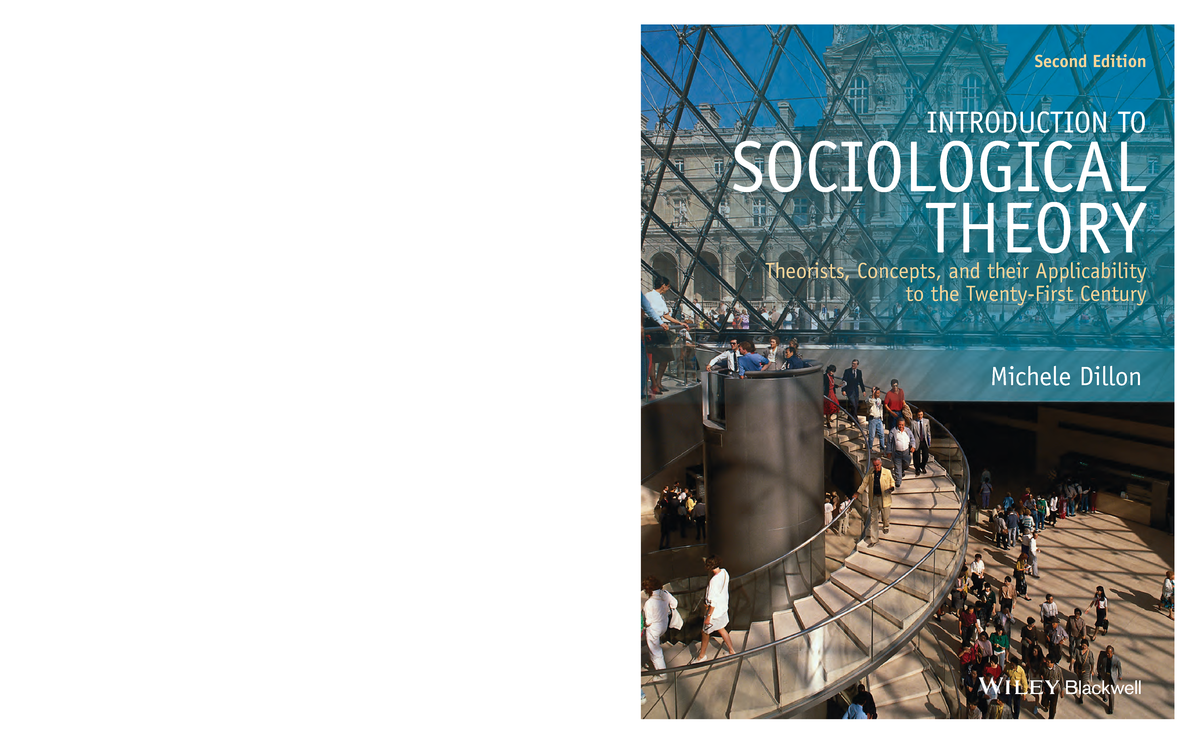 Introduction To Sociological Theory Michele Dillon Ebook Download