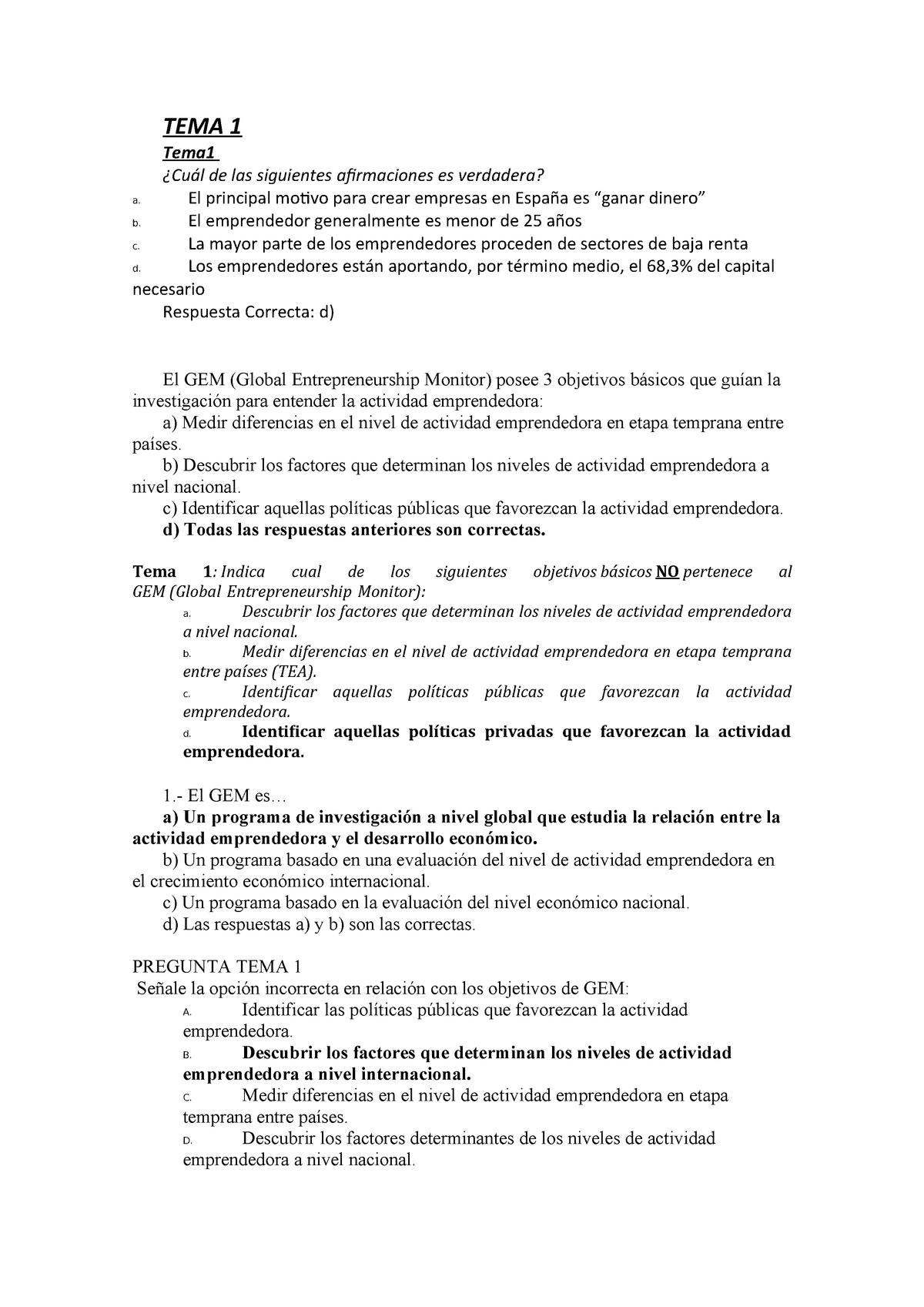 examenes de economia 1 bachillerato tipo test pdf