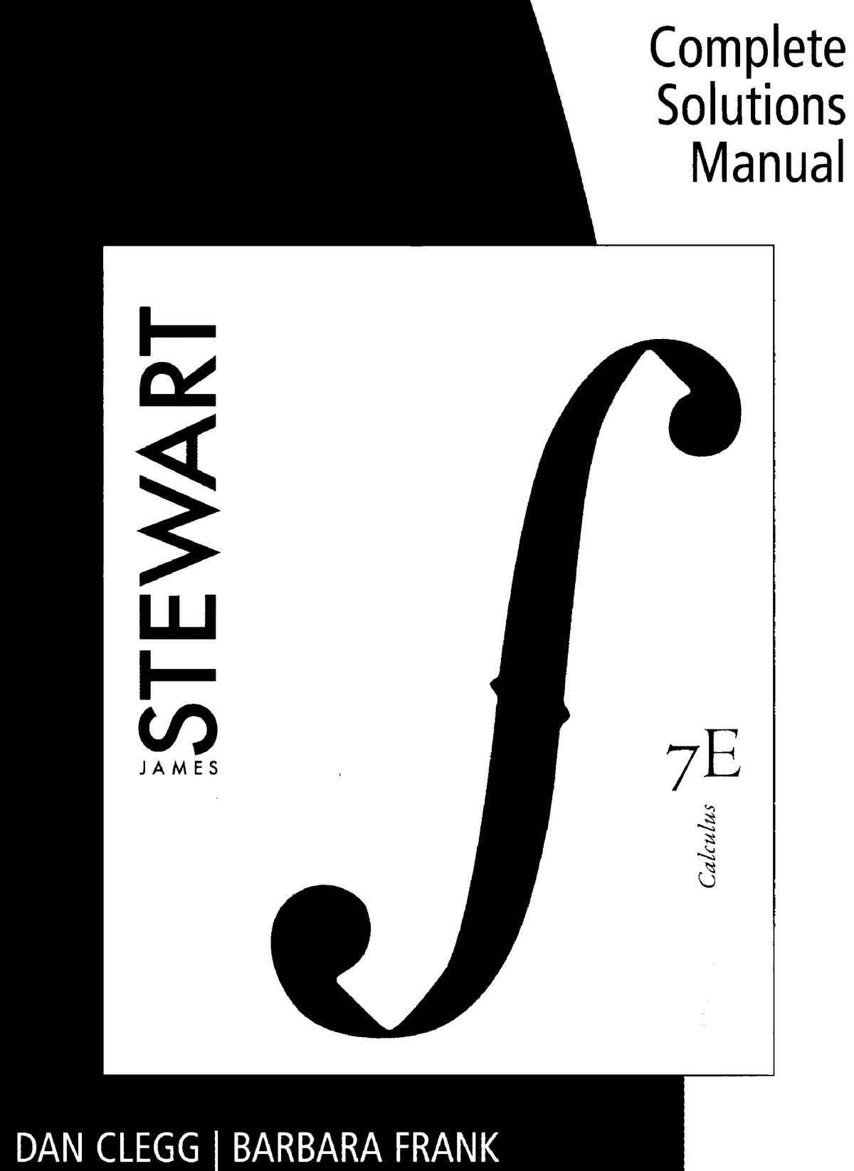 James Stewart] plete Solutions Manual for Mult Book ZZ StuDocu