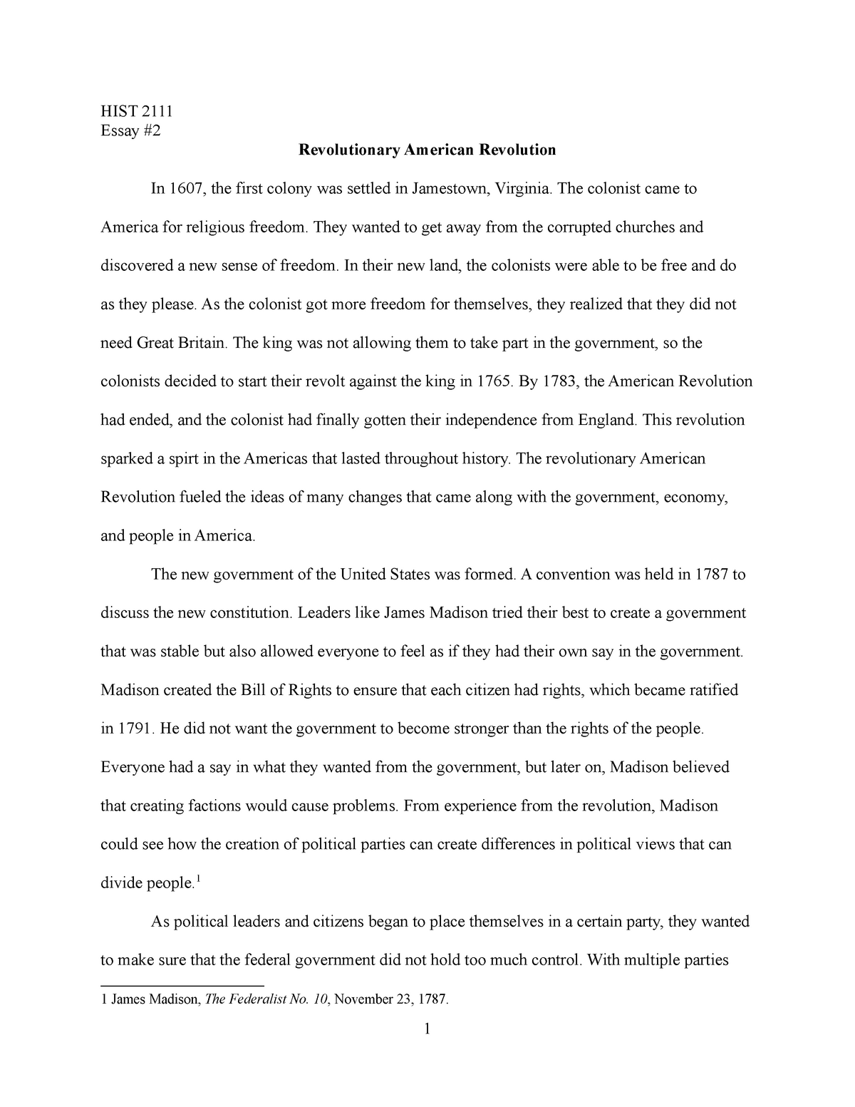 Free american history essays how to write a confirmation thank you card