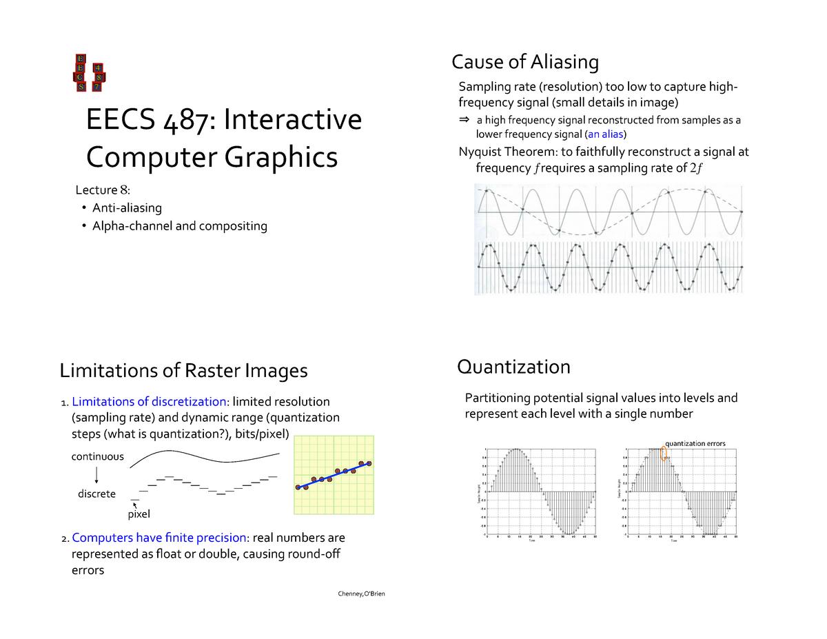 Lecture notes, lecture 8 - CS 4611: Computer Graphics - StuDocu