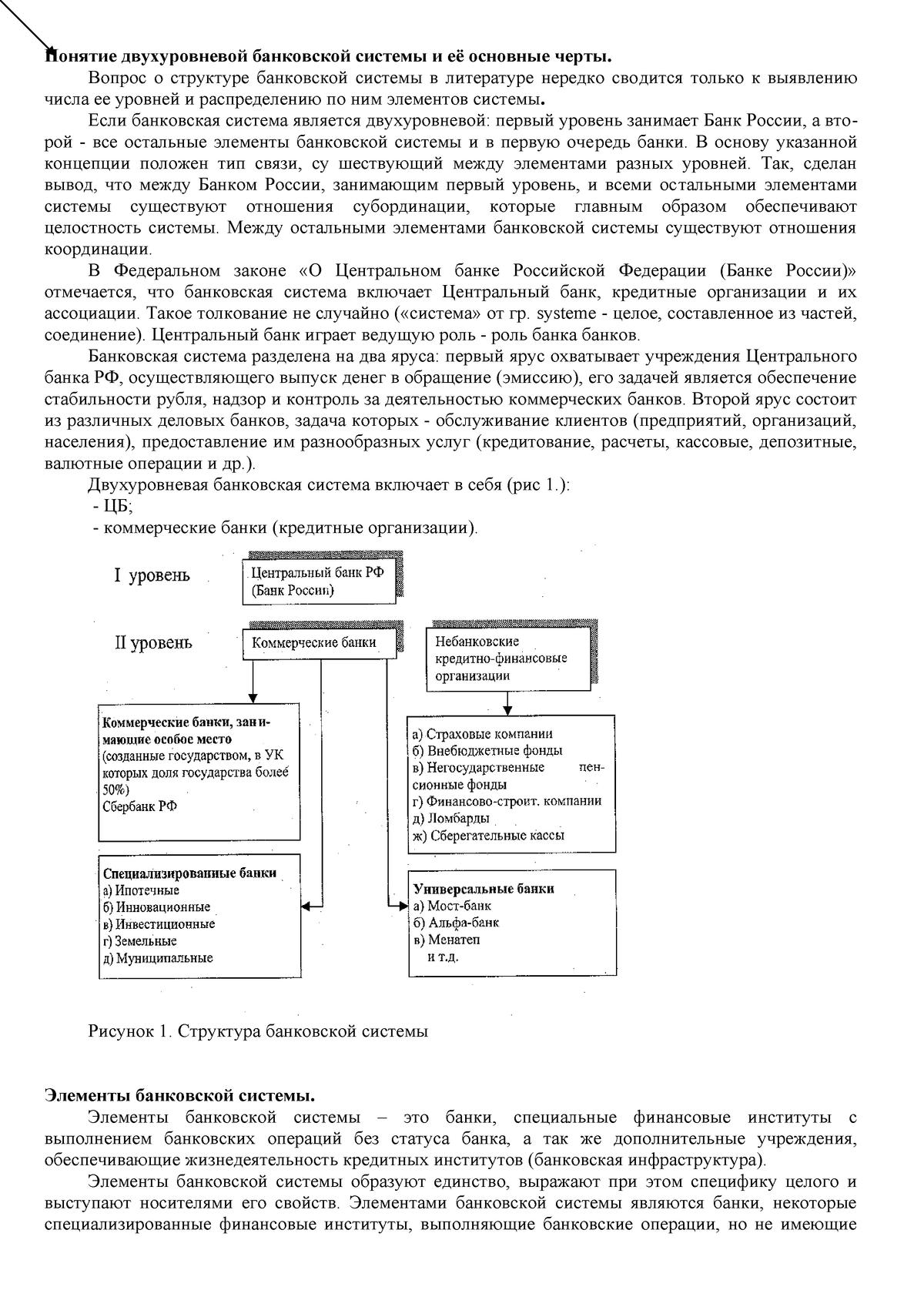 Банки и небанковские кредитно финансовые организации