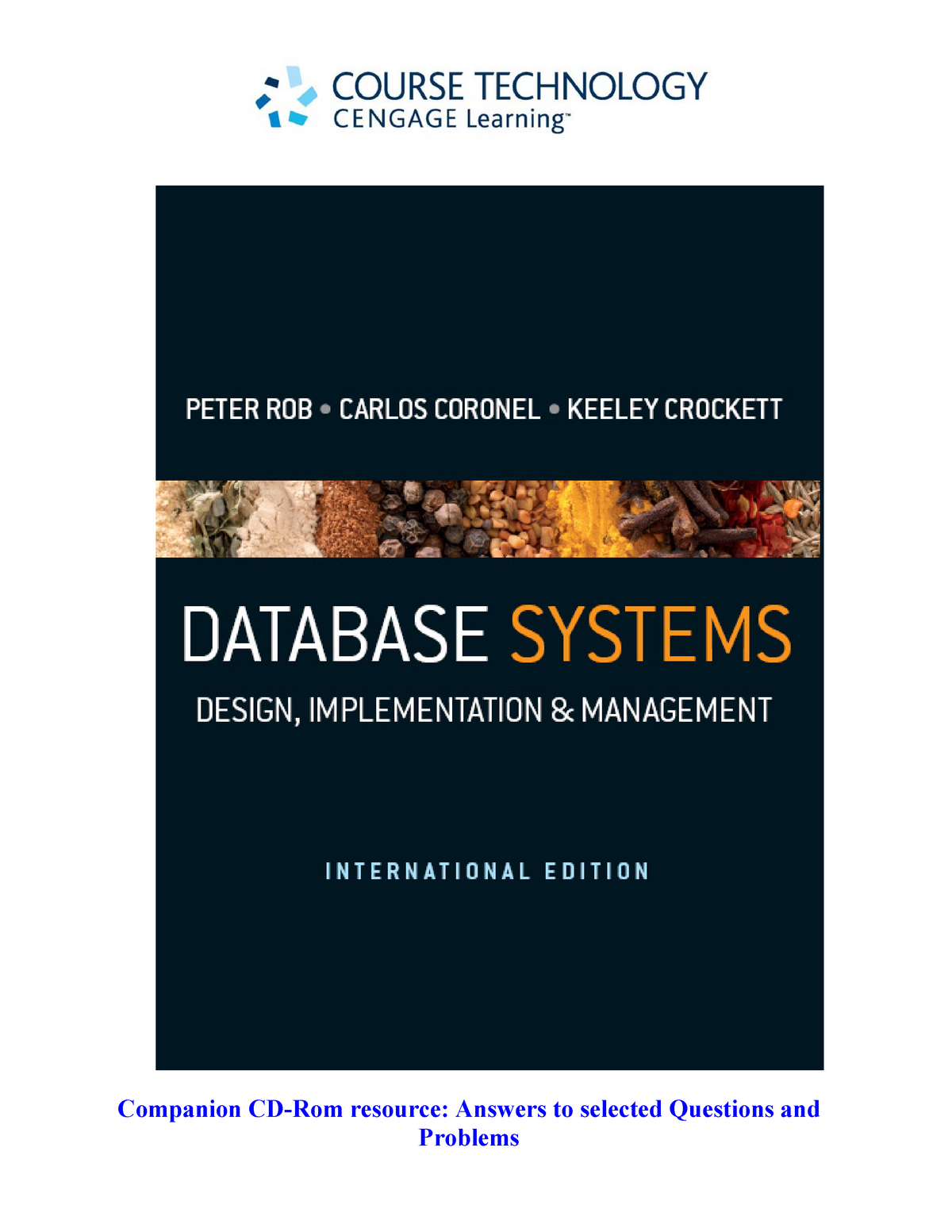 Answers To Selected Questions Database Design Ict3621 Studocu