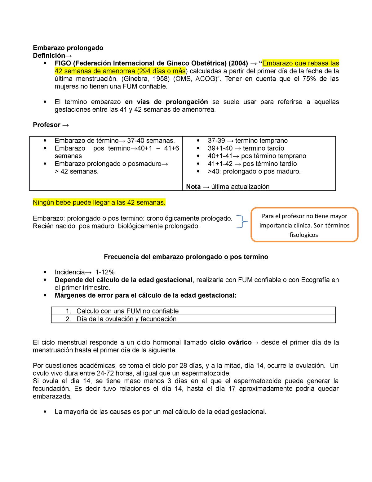 Embarazo-prolongado-final - Ginecologia ginecologia - UCC