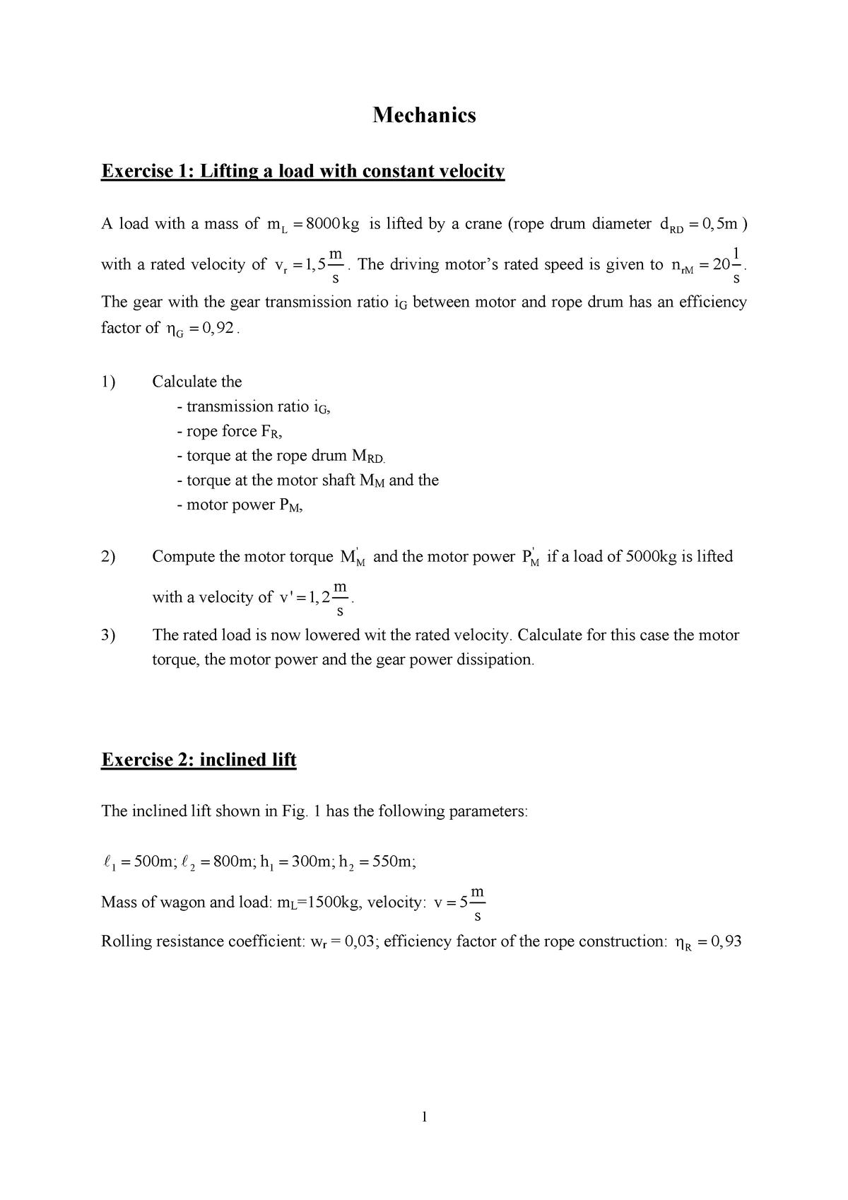 Exercise Questions - 43LEA2101V: Actorics - StuDocu
