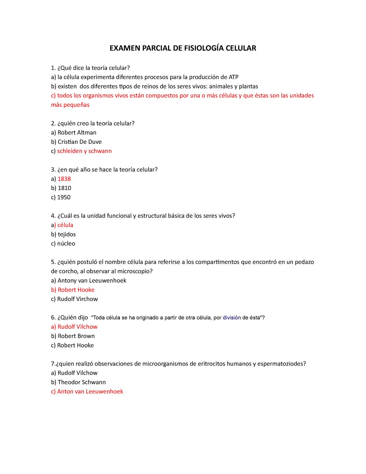 Examen Enero 2014 Preguntas Y Respuestas Umsnh Studocu