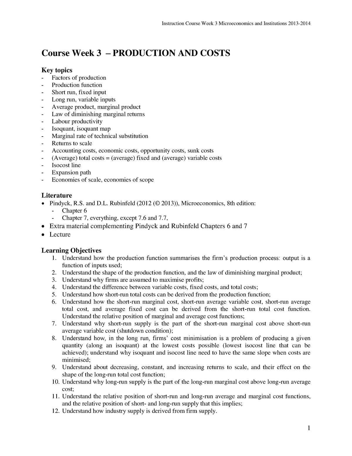 Workgroup elaborations week 3-6 & 8 questions - StudeerSnel