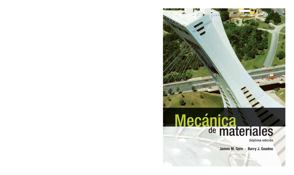 7dee8e6750c Mecánica de materiales, 7ma Edición - James M. Gere- Freelibros - StuDocu