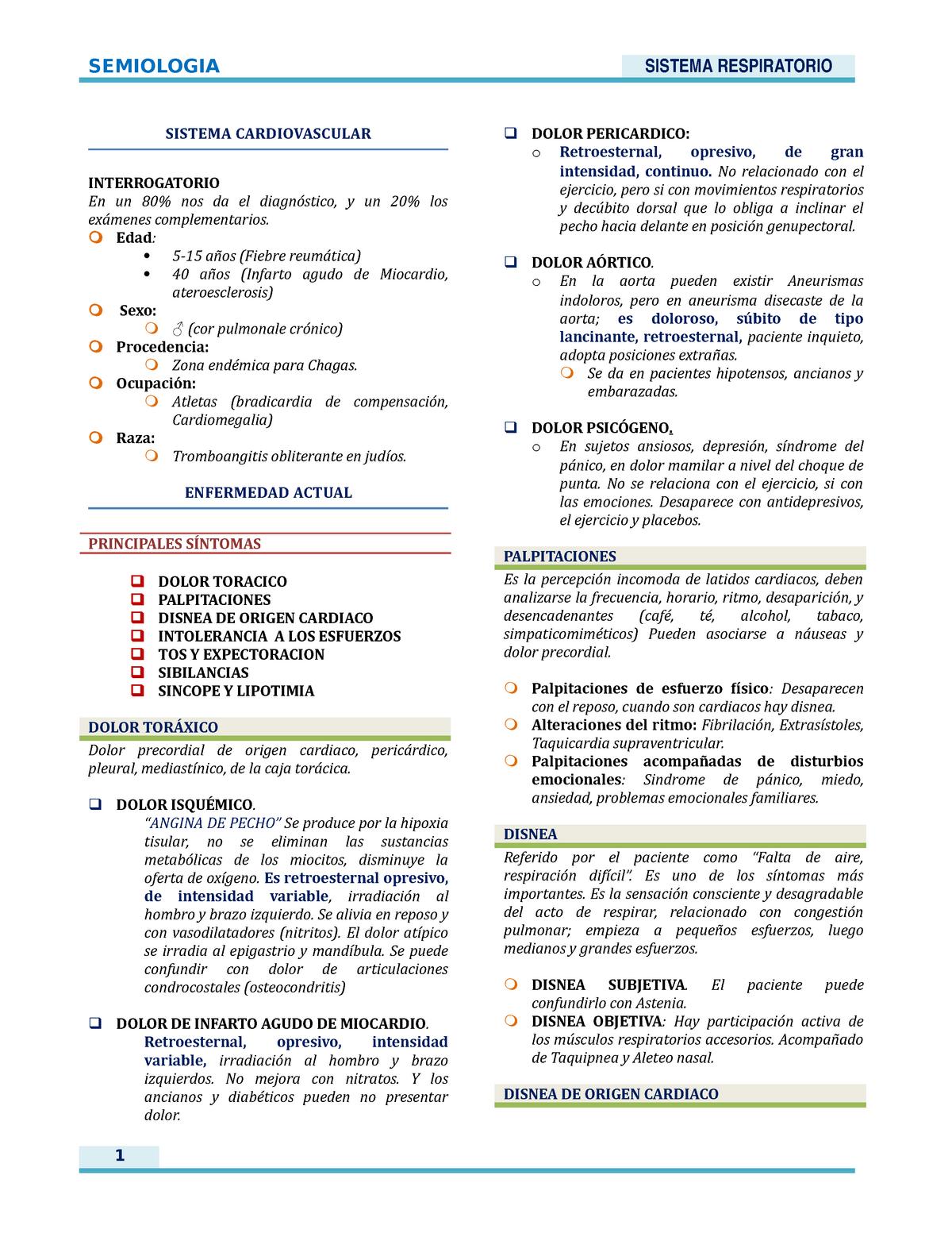 Localización idiopática del dolor torácico en la hipertensión intracraneal