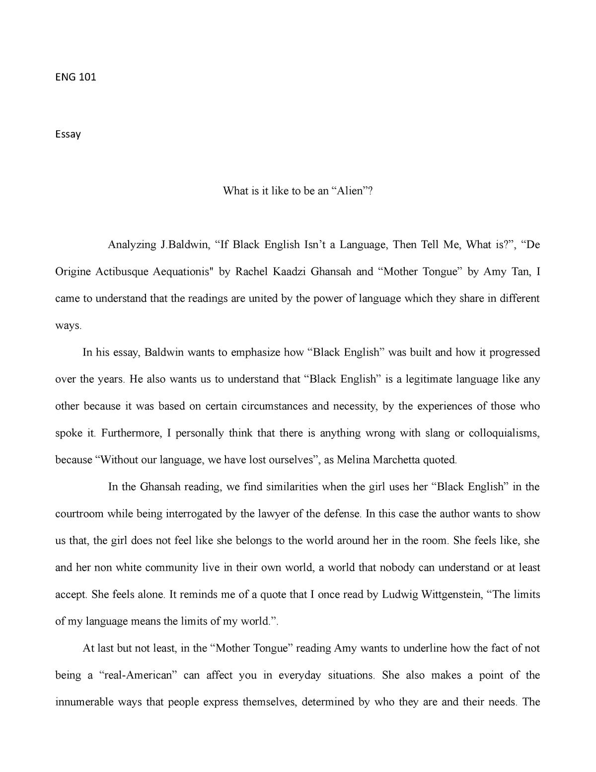 eng  essay   grade a   eng  english composition