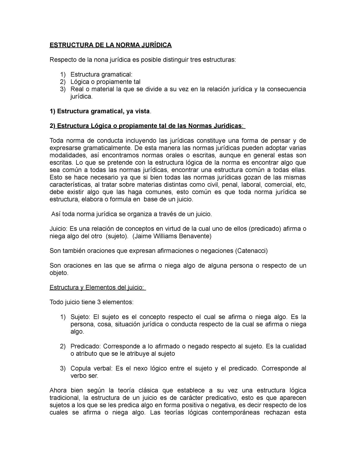 5estructura Logica De La N Jdca Introducción Al Derecho